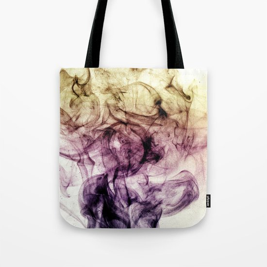 Beautiful Purple Brown Smoky Dust Tote Bag
