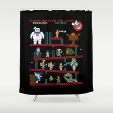 The Real Donkey Puft Shower Curtain