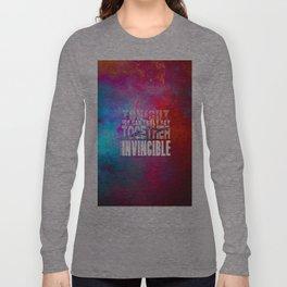 muse invincible Long Sleeve T-shirt