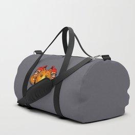 Bear Inside Duffle Bag