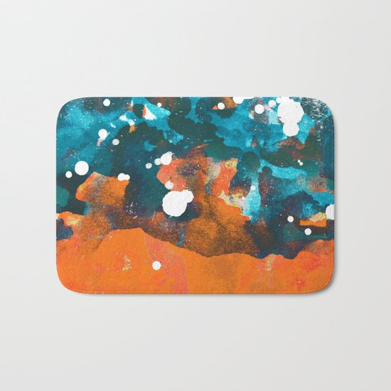 Crashing Wave Bath Mat