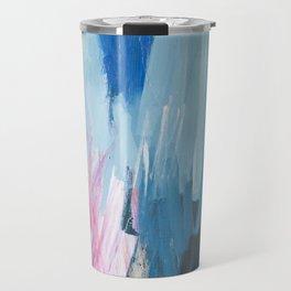 Abstract Neon Painting Travel Mug
