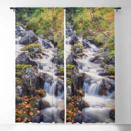 Mountain stream Blackout Curtain