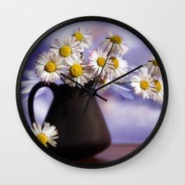 I Love You my Gänseblümcher Wall Clock