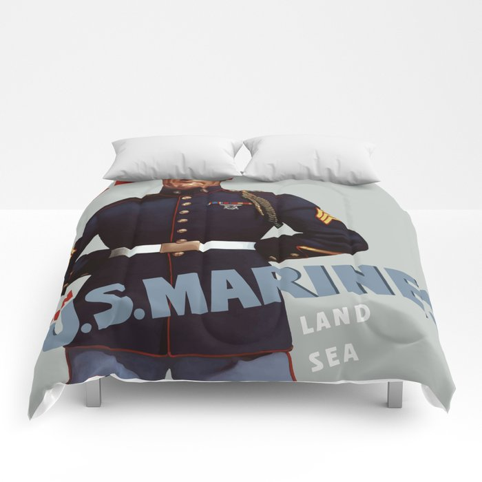 Ready -- Join U.S. Marines Comforters