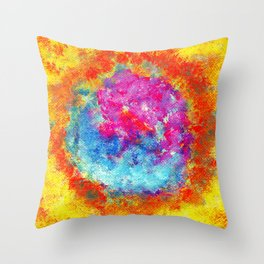 Plasmic Earth Number Two Throw Pillow