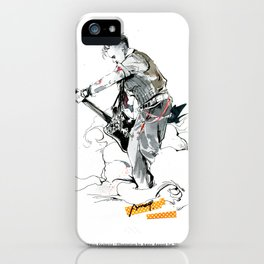 a vampire guitarist iPhone Case