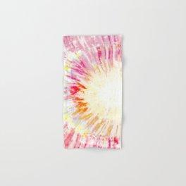 Tie dye pink Hand & Bath Towel