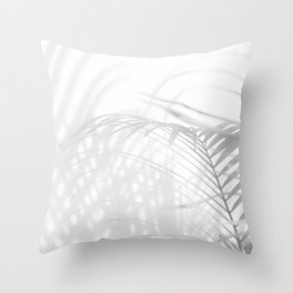 Shadow Fern Throw Pillow