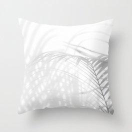 Shadow Fern Throw Pillow