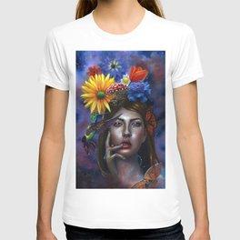 Mind Blown Oil Painting T-shirt