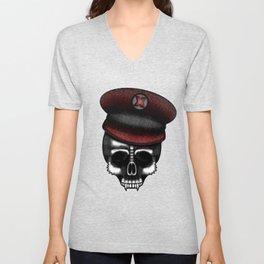 Skull Soldier Unisex V-Neck