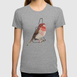 New Hampshire – Purple Finch T-shirt