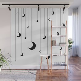 Kennah's Dream in Black and White Wall Mural