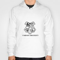 fandom Hoodies featuring fandom university  by Synne Vestvik