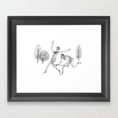 Edwardian bros Framed Art Print