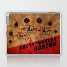 Unity Through Gaming! Laptop & iPad Skin
