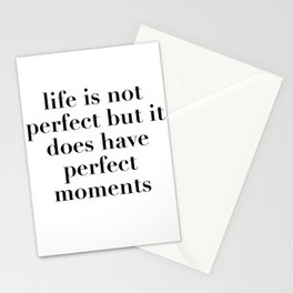 perfect moments Stationery Cards