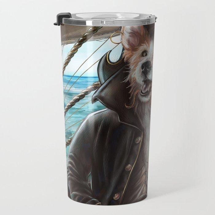 Jean Lafeet Travel Mug