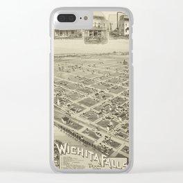 Wichita Falls 1890 Clear iPhone Case