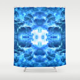Exiting the Wormhole Shower Curtain