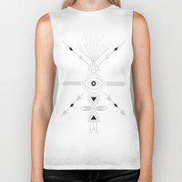 arrows Biker Tanks featuring Arrows by Je.wels & Graphics Berlin