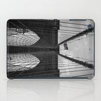 brooklyn bridge iPad Cases featuring Brooklyn Bridge by Nicklas Gustafsson