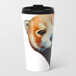 Panda Selfie Metal Travel Mug