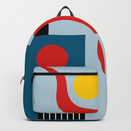 SWIMMERS IN WEIMAR Backpack