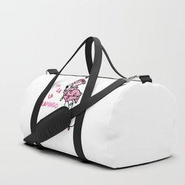 Christmas Flamingo Duffle Bag