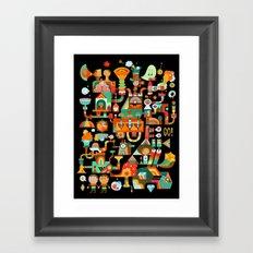 The Chipper Widget (Remix) Framed Art Print