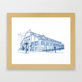 BluePrints | St.Lawrence Market - Toronto Framed Art Print