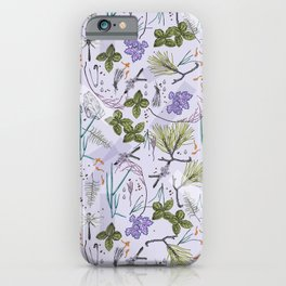 summer herbarium iPhone Case