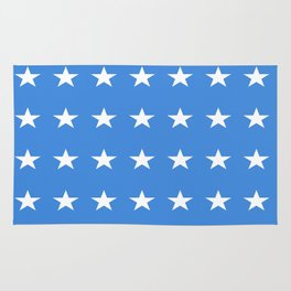 stars and blue-sky,light,blue,rays,hope,spangled,estrella,astre,pointed,azul,azure Rug