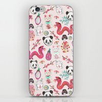 asia iPhone & iPod Skins featuring Asia by Abby Galloway
