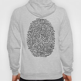 Animal Fingerprint Hoody