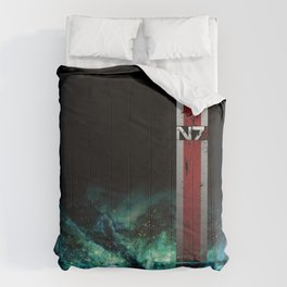 N7 Battle Damaged Armor Comforters