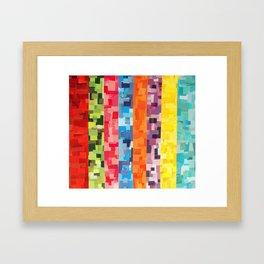Color Study Framed Art Print