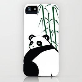 Big Butt Panda iPhone Case