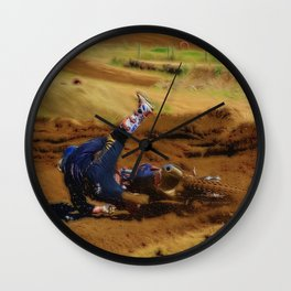 Crashing the Party - MotoX Wall Clock