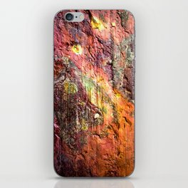 Colorful Nature : Texture Warm Tones iPhone Skin