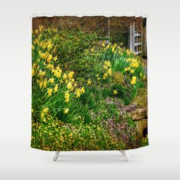 Spring has Sprung! Shower Curtain
