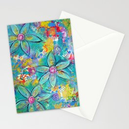 Live Life to the Max! Original painting by Mimi Bondi Stationery Cards