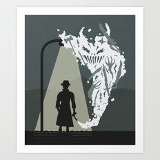 Shady Killer Art Print