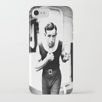 boxer iPhone & iPod Cases featuring Boxer by PureVintageLove