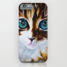 Whiskers the Cat Slim Case iPhone 6s