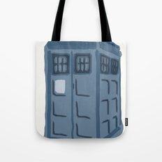 Abstract TARDIS Tote Bag