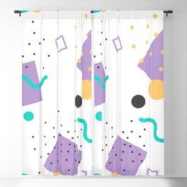 Memphis Pattern Blackout Curtain