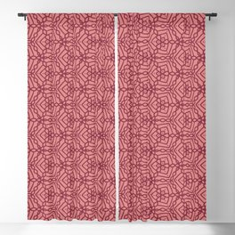 Magenta Chains 2 Blackout Curtain