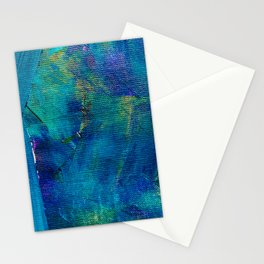 Blue Painting Stationery Cards